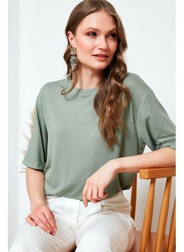 Lela Bluz Yeşil